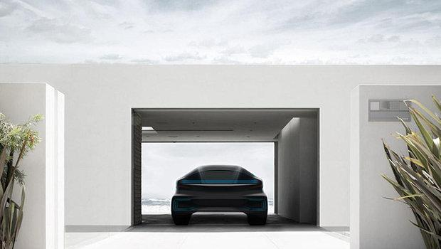 Teaser da Faraday Future